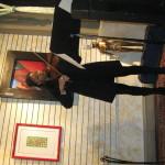 Yokley performing