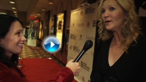 Joan Allen and me arrow