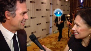 Interviewing Mark Ruffalo arrow