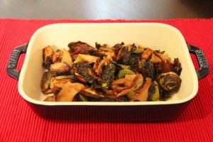 Brussel Sprouts + staub