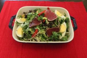 Tuna salad in Staub resize