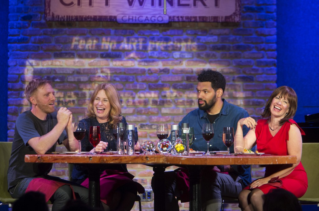 Elysabeth Alfano's Fear No Art presents The Dinner Party at City Winery, Monday, Sept. 14, 2015. Charles Osgood Photography