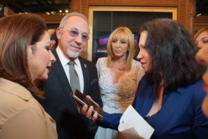 Gloria Emilio Estefan Red carpet
