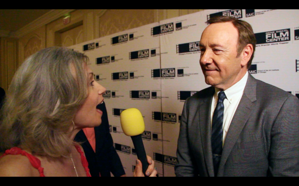 me talking and kevin spacey