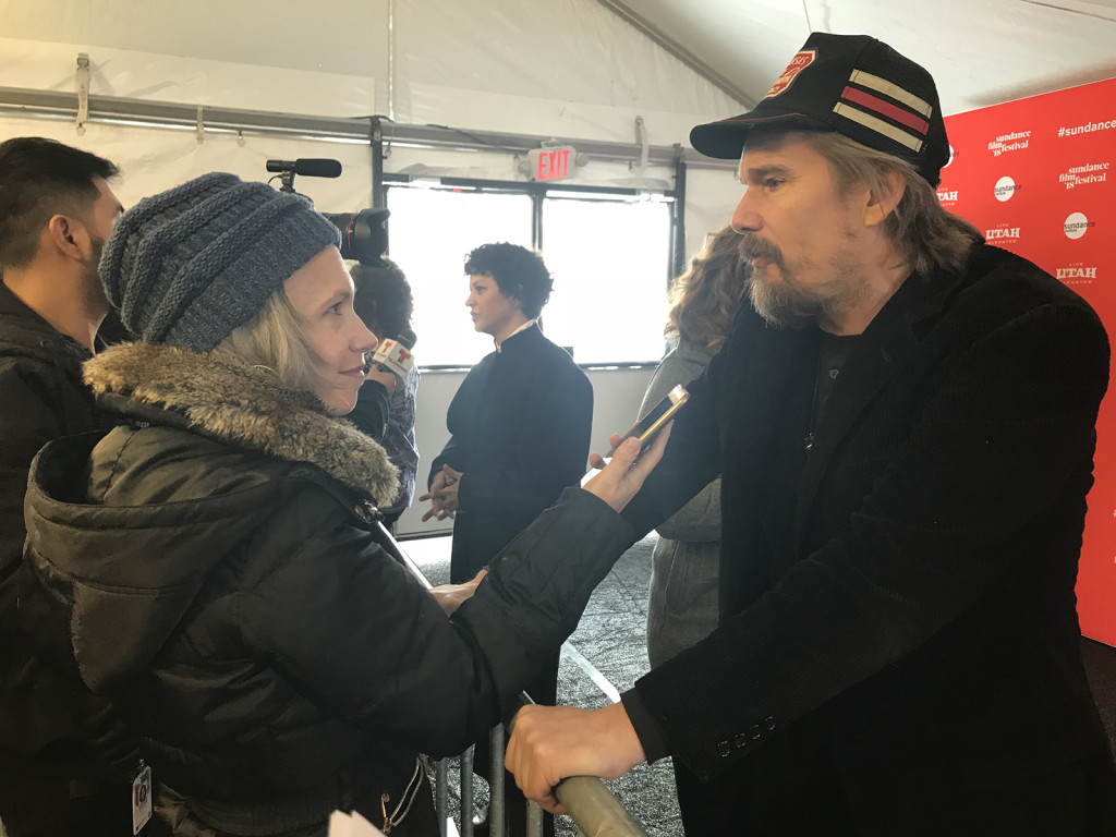 Me and Ethan Hawke